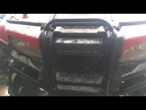 2017 Honda rancher 420 review