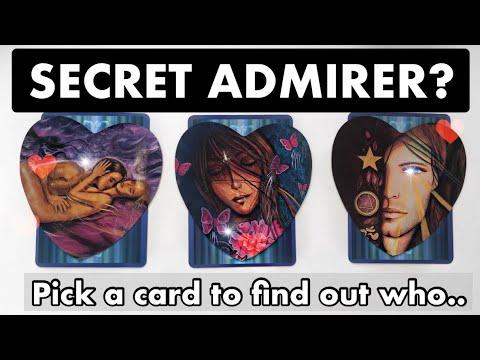 Who has a SECRET CRUSH on YOU? ❤️Secret admirers await..pick a card (timeless)Tarot reading.