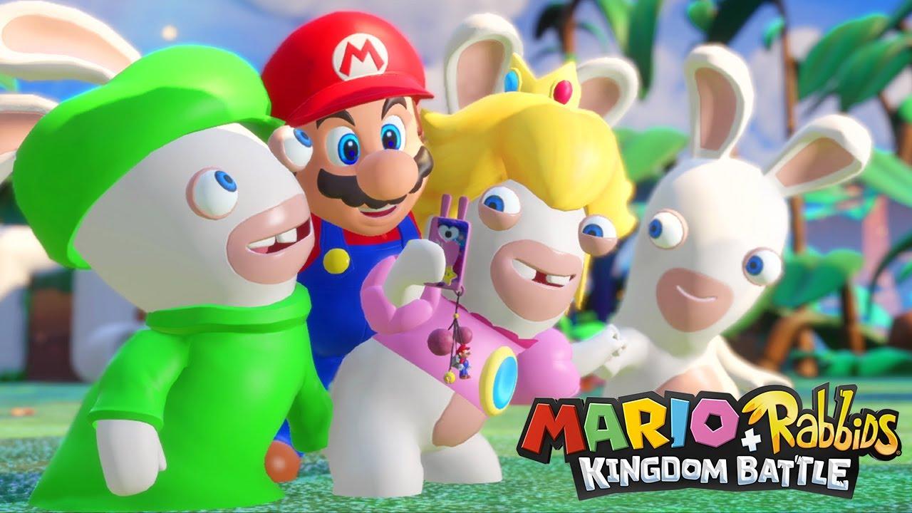 Mario lapins cr tins gameplay fr youtube - Lapin cretin image ...