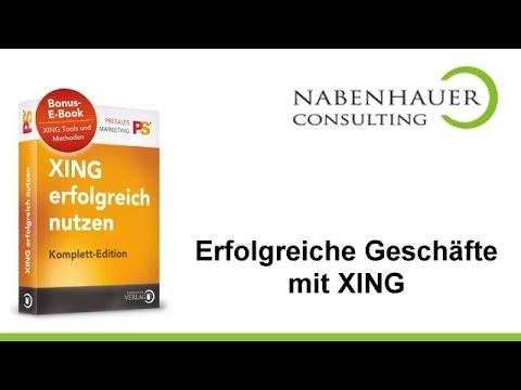 Xing erfolgreich nutzen - Gratis ebook zur Nutzung von Xing von Nabenhauer Consulting