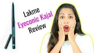 LAKME Eyeconic Kajal Pencil Review #WeekendReviews