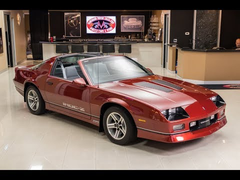 1986 chevrolet camaro iroc z28 for sale youtube. Black Bedroom Furniture Sets. Home Design Ideas