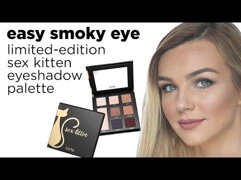 easy smoky eye with sex kitten eyeshadow palette
