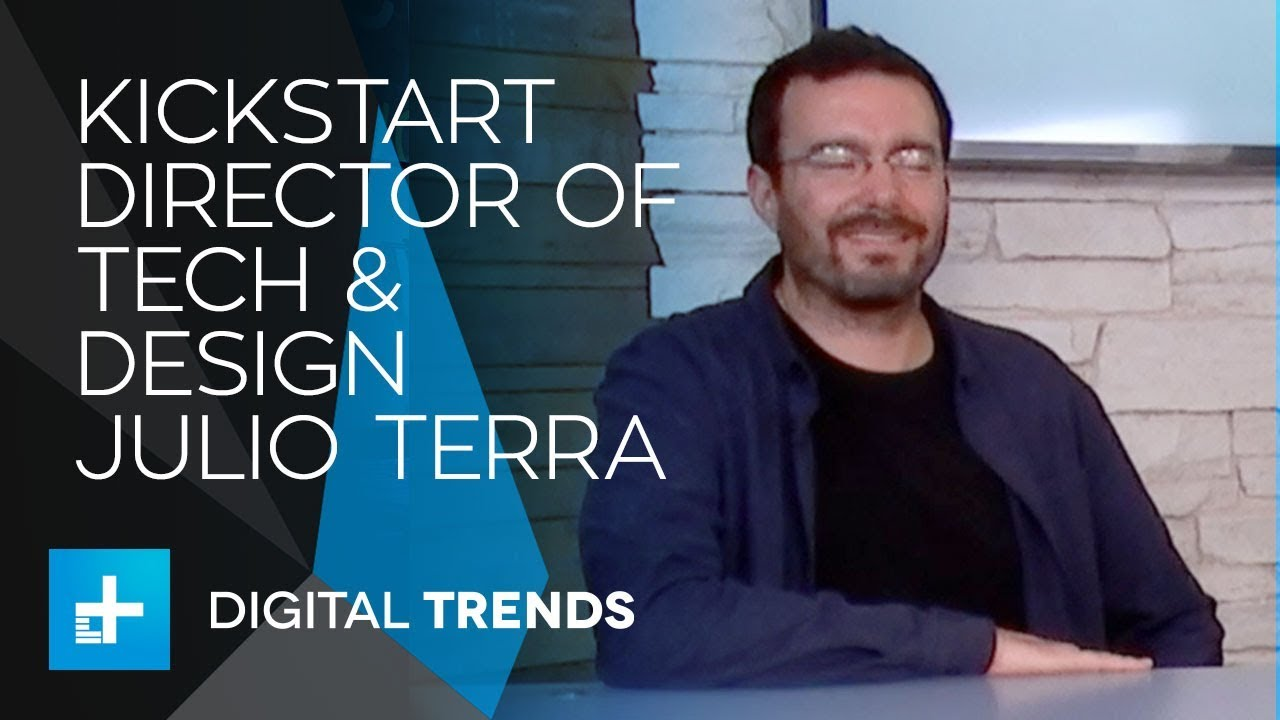 Julio Terra Director of Technology & Design at Kickstarter – Live Interview at CES 2018