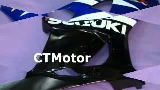 ctmotor 2003 2004 suzuki gsxr 1000 k3 fairing bla