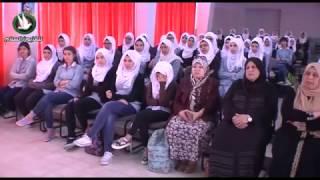 ورشة لطالبات الثانوية حول التنمية البشرية في مدرسة بنات العدوية