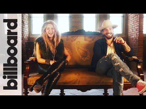 Shakira & Maluma Discuss Bringing Kids On Tour, Soccer & More! | Billboard