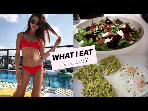 MODEL WHAT I EAT IN A DAY/ Healthy thumbnail