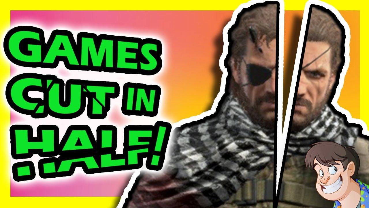 ✂️ 5 Games CUT IN HALF During Development!!! | Fact Hunt | Larry Bundy Jr