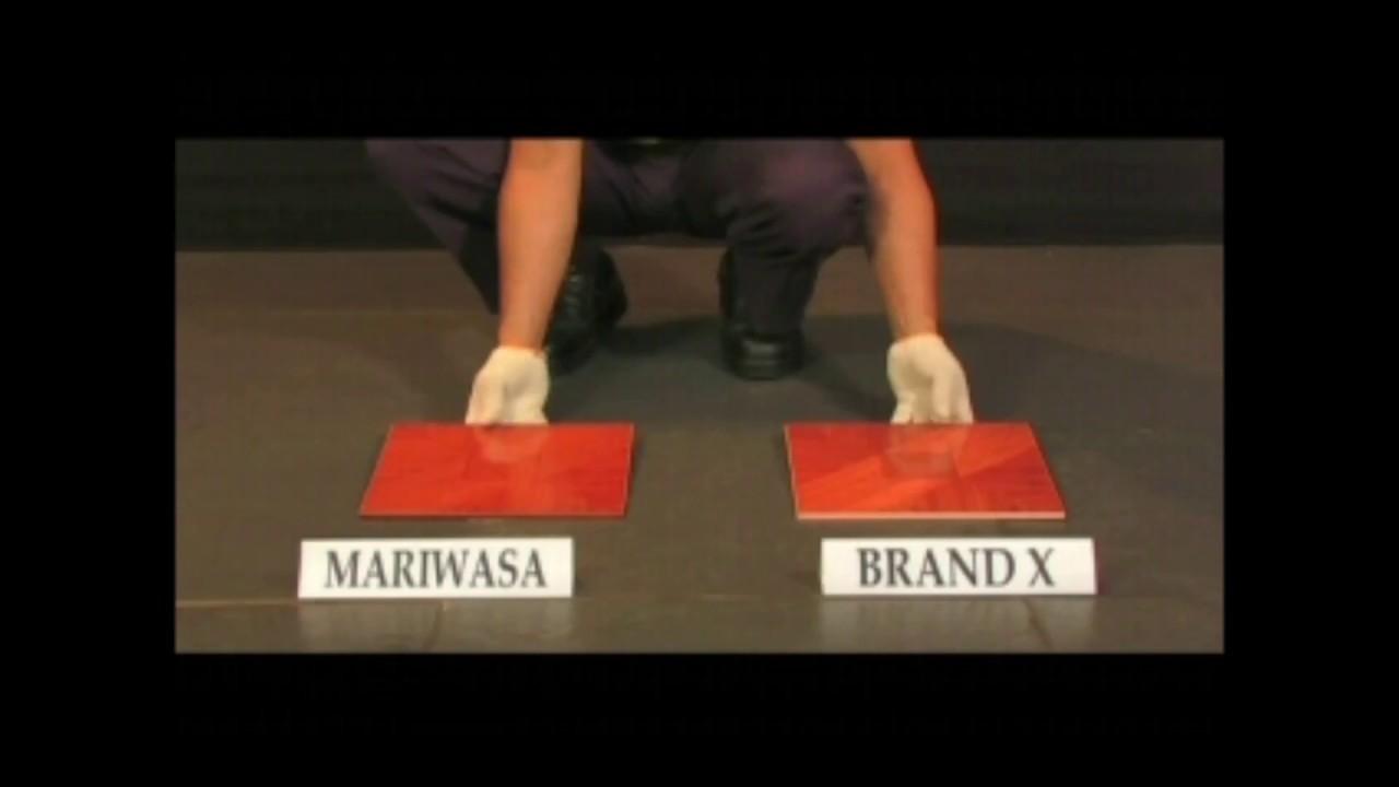Mariwasa tiles product demonstration youtube mariwasa tiles product demonstration dailygadgetfo Choice Image