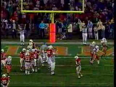 1995 Orange Bowl - Schlesinger 2nd Touchdown Run