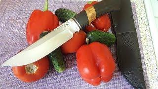Нереально острый нож ручной работы!