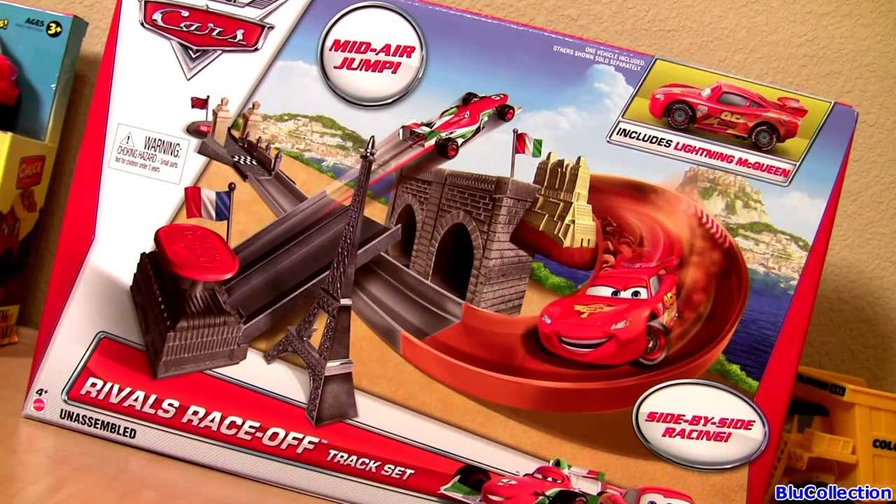 Cars 2 Rivals Race Off Track Set 2014 Side By Side Racing