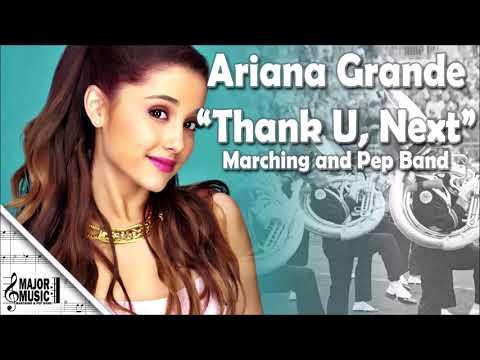 """thank-u,-next""-ariana-grande-marching/pep-band-sheet-music-arrangement"