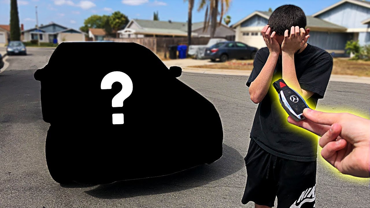 I Pranked Him Then I Bought Him His Dream Car Emotional Surprise