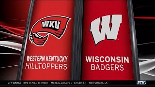 Western Kentucky at Wisconsin - Men's Basketball Highlights