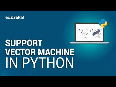Support Vector Machine In Python | Machine Learning in Python Tutorial | Python Training | Edureka thumbnail