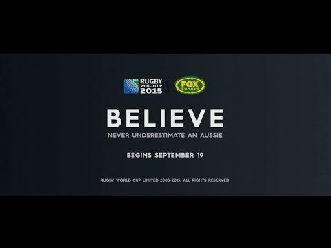 Advert - Fox Sports Rugby World Cup - VO Rupert Degas