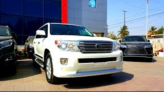 2013 Toyota Land Cruiser ZX| Startup| Complete Review| Pakistan