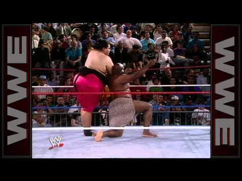 WWE Hall of Fame: Yokozuna battles the mighty Kamala