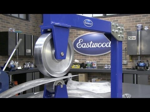 English Wheel - How To Make a Fender Flare & Techniques - Eastwood