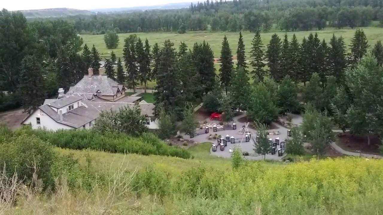 Tent and Trailer Park Calgary Alberta Canada Postcard Camping