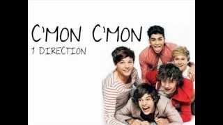 One Direction - C'mon C'mon (Lyrics + Pictures)