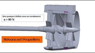 La pompe à hélices à double étage