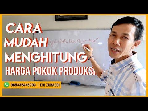 Cara Mudah Menghitung Harga Pokok Produksi   Edi Zubaedi