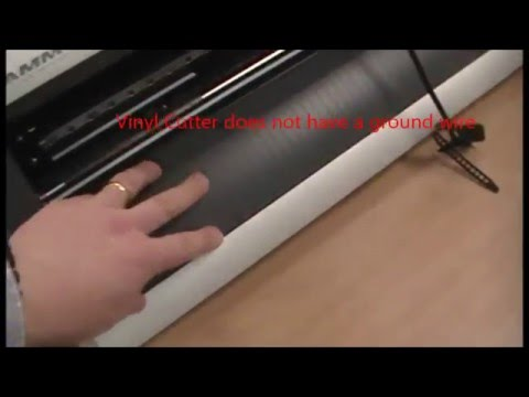 Roland Vinyl Cutter Motor Error Fix