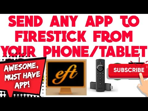 (2019)💥INSTALL ANY APP ON FIRESTICK FROM ANDROID PHONE/TABLET WITH THIS ONE APP! FAST & EASY!💥