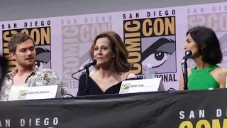 Marvel's Defenders Panel @ SDCC 2017 (Sigourney Weaver, Charlie Cox, Mike Colter, Krysten Ritter)