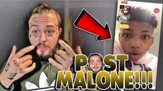 FAKE POST MALONE PRANKS PEOPLE ON THE MONKEY APP!!!