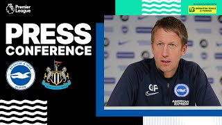 Graham Potter's Newcastle Press Conference