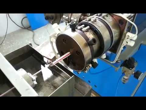 factory video two color drinking straw extrusion line making machine