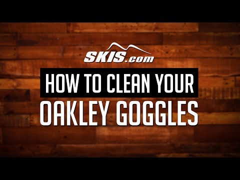 How to Clean Your Oakley Goggles