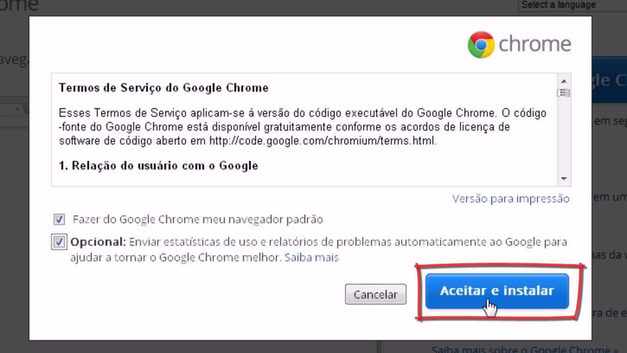 Como baixar e instalar Google Chrome [Atualizado - 2015 ...