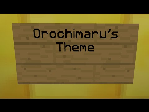 Naruto Noteblock Song - Orochimaru's Theme
