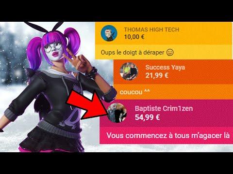 JE REÇOIS 300€ DE DONS EN TOURNOI TRIO ...