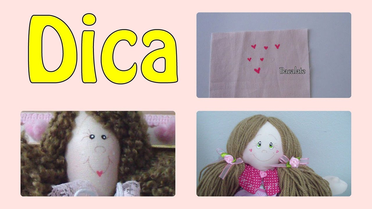 Adesivo Tema Festa Junina ~ DICA de Pintura CORA u00c7ÃO para BOCA ou BOCHECHAS de BONECA DIY Artesanato YouTube