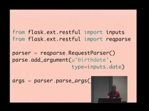 Building web apis with flask restful youtube building web apis with flask restful malvernweather Images