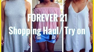FOREVER 21 Spring & Summer Haul | May 2016