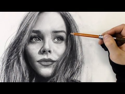 girl-portrait-practice---5/30---realistic-charcoal-drawing