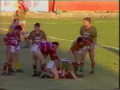 Souths V Manly at Redfern Oval 1987 - Full Game With Freak Try By Ron Gibbs