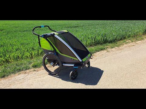 Thule Chariot Cab 2 Fahrradanhänger | Bericht, Test & Erfahrungen nach 2 Jahren | Kinder 0-8 Jahre