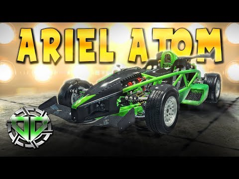 Ariel Atom V8 Restoration : Car Mechanic Simulator 2018 : PC Lets Play