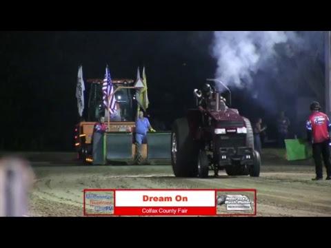 Colfax County Fair Pull 7-20-18 Part 2