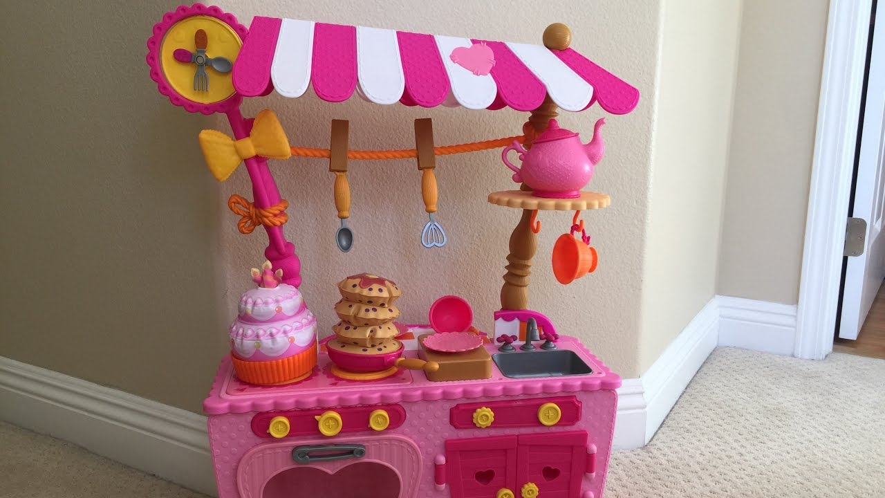 lalaloopsy magic kitchen toy review and
