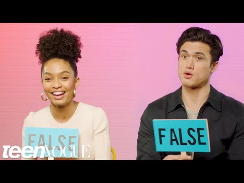 Yara Shahidi and Charles Melton Play &39;Fact or Fiction&39;  Teen Vogue