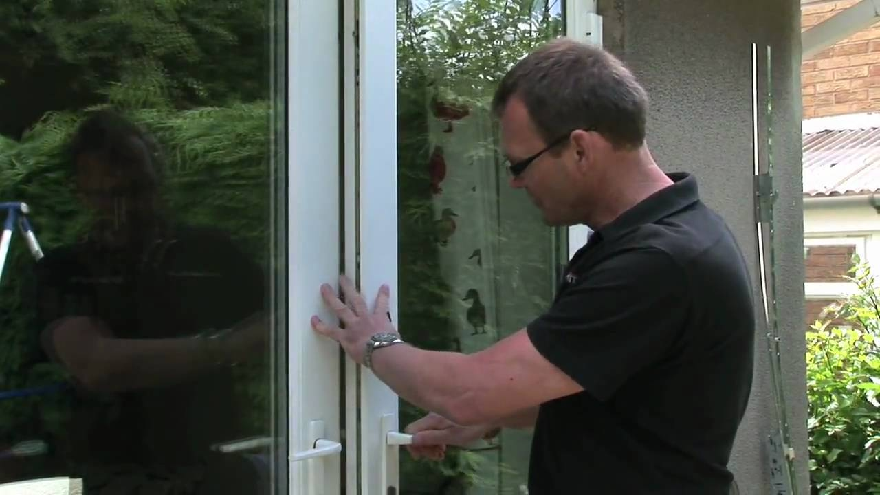 HOW TO  Fix a UPVC Door  YouTube